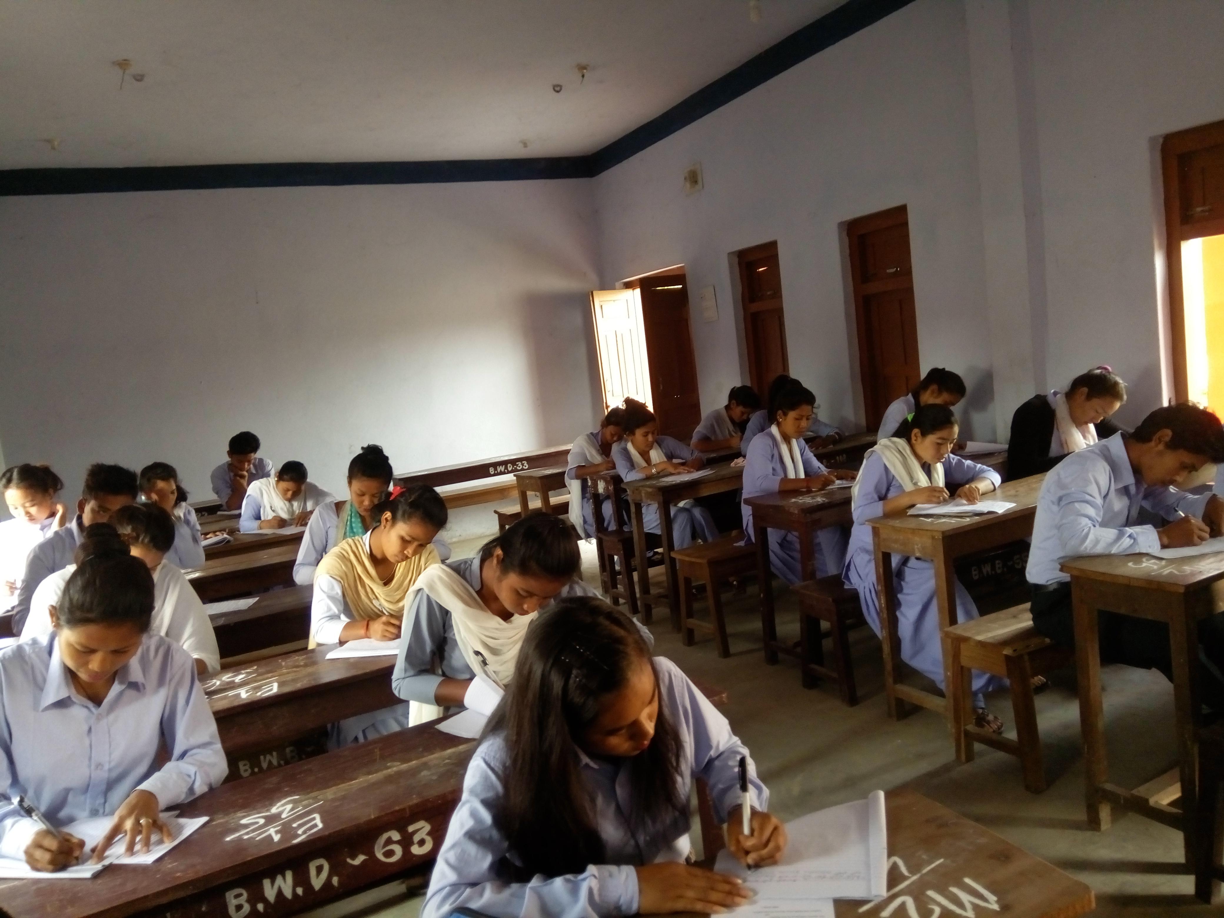 Internal Test Examination Held